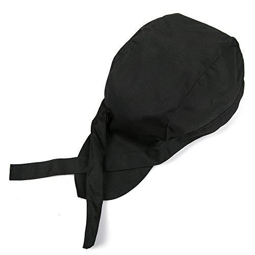 SENRISE, cappello da cucina alla moda, cappelli da cucina, hotel, chef, cameriere, cappellino da lavoro in tela elastica, nero