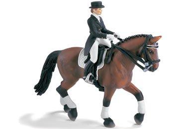 Schleich 40187 Dressurreit Set mit 13296 Hannoveraner Pferd [Spielzeug]