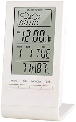 Weather Station Outdoor Thermometer Indoor LC Lowest price challenge Hygrometer Digital 70% OFF Outlet
