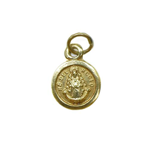 Medalla LENTEJA Oro de 18 Klts de Bebé J. Luis JC-J.L-MED-033 (Virgen del Rocío)