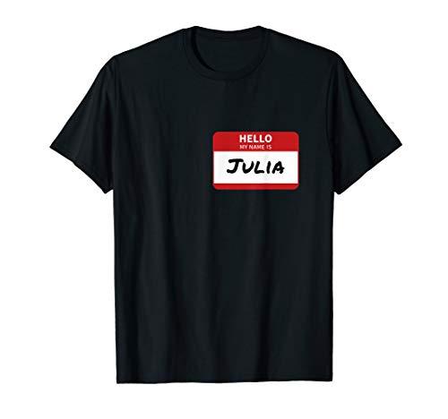 Julia Namensschild T-Shirt