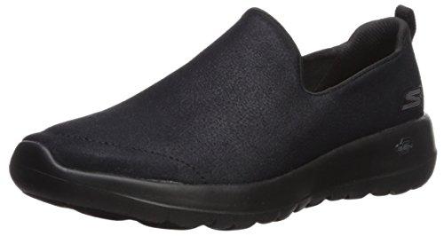 Skechers Performance Go Walk Joy-Gratify, Zapatillas sin Cordones Mujer, Negro (BBK Black Textile/Trim), 35.5 EU