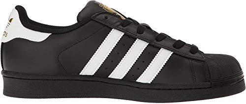 adidas Originals Damen Superstar Turnschuh, Kern schwarz/weiß/Gold metallic, 38.5 EU
