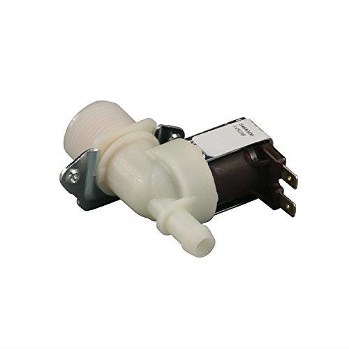 Magnetventil 1-fach 180° 11,5mmØ Waschmaschine Spülmaschine