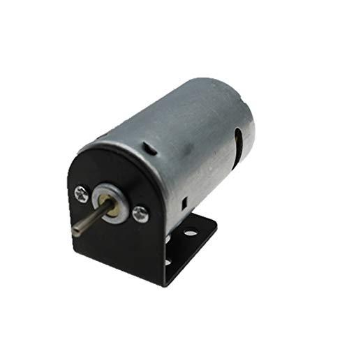 Leloo Lruirui-Motor Dc 1PC High Speed 12V~24V DC Motor, Holder Stand Bracket Mount, 33 * 31 * 26mm, For Hand Mini Drill PCB Drilling Fit, DIY Driver Parts