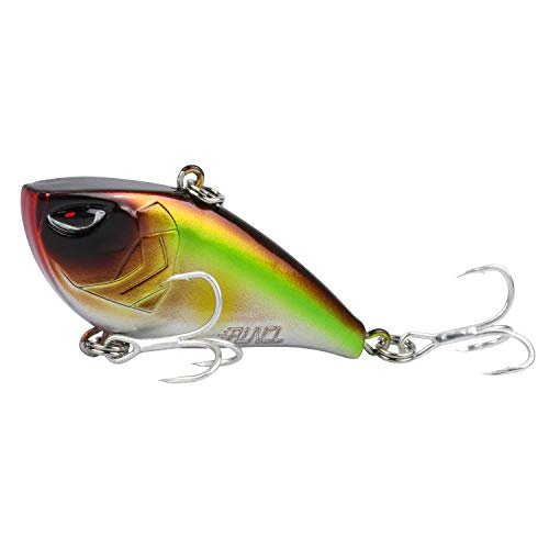RUNCL ProBite Lipless Crankbait Mad Ghost, Vibe Cranks, Hard Fishing Lures - Lifelike Design, Loud Rattles, Precise Weighting System, Tight Wobble Action - Fishing Plug (1/2oz)