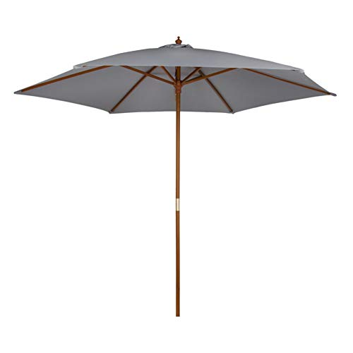 Aktive - Parasol hexagonal Garden diámetro 300 cm - Mástil