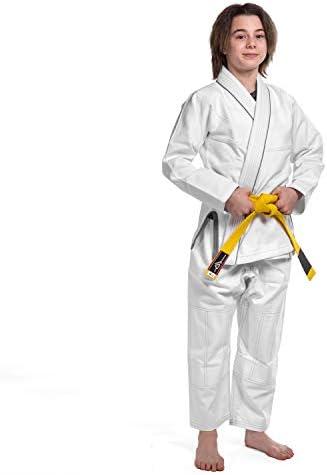 KO Sports Gear Foundation Gi for Kids Hemp Blend BJJ Kimono and Pants for Jiu Jitsu M4 product image