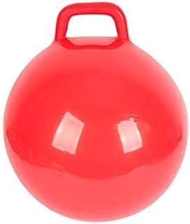 POPETPOP Kabarık Topu Ile Kolları Çocuklar Zıplatma Top Şişme Hazne Top Atlama Çocuklar Top Atlama Hazne Top ( Kırmızı )