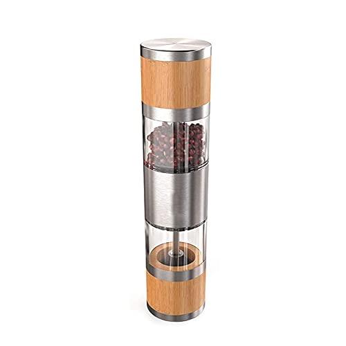 ZHIRCEKE Molino de Pimienta Negra Manual de la Cocina de la Cocina Condujano de la Botella de Vidrio Seys Pepper Paste Poper Mill Pepper