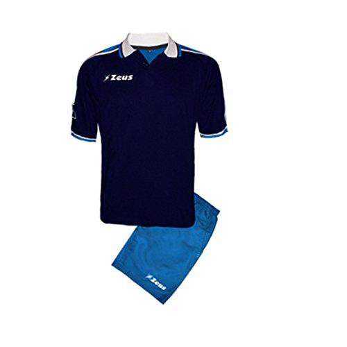 Royal Kit City-Bleu-Blanc Zeus Running Sport Homme Staff Running jogging Entraînement Relax Foot Futsal Tournoi École Sport XXXL BLU-ROYAL-BIANCO