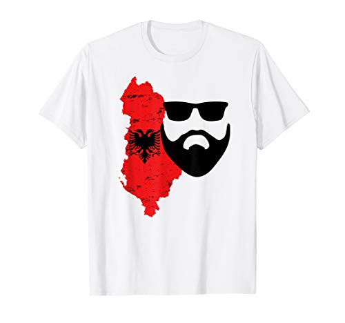 Albanien Flagge Albanischer Adler Tshirt Albanien T-Shirt