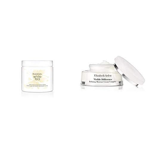 Elizabeth Arden White Tea Body Cream, 400 ml & Visible Difference hydrating complex cream,1er Pack (1 x 75 ml)