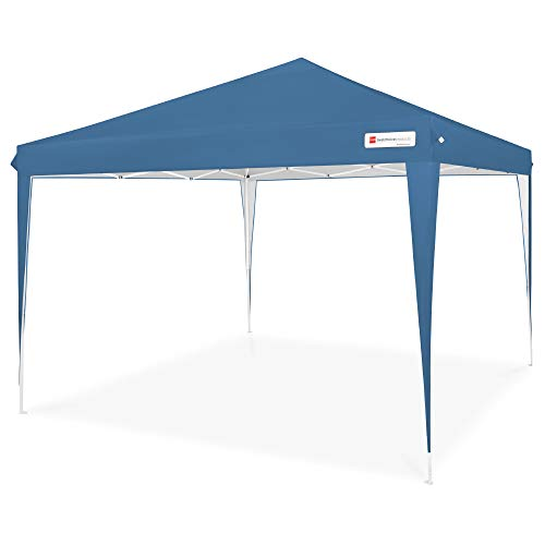 Best Choice Products 10x10ft Outdoor Portable Lightweight Folding Instant Pop Up Gazebo Canopy Shade Tent w/Adjustable Height, Wind Vent, Carrying Bag - Blue