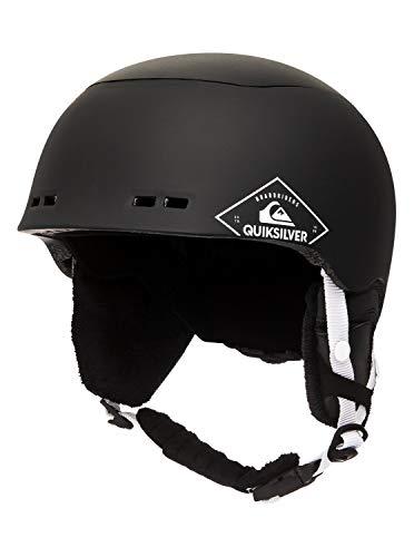 Quiksilver Herren Lennix-Snowboard-/Skihelm für Männer, Black, S/M