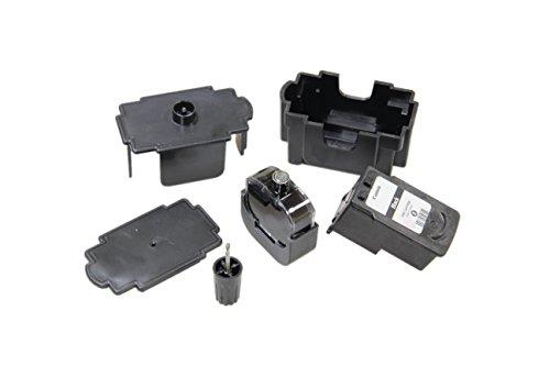 Kit DE FÁCIL Recarga para Cartuchos de Tinta Canon 545, 545 XL Negro, Tinta Incluye Clip y Accesorios