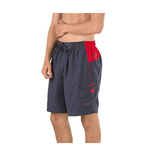 Speedo Men's Swim Trunk Knee Length Marina Sport Volley Granite, XX-Large