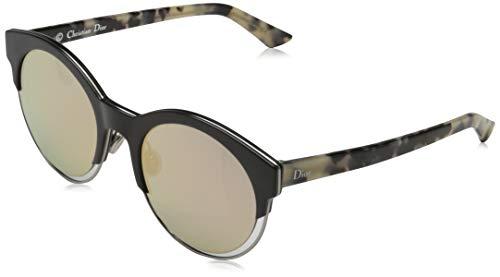 Dior DIORSIDERAL1 0J XV5 Gafas de sol, Negro (Blckruth Hvn/Grey Rose Gd Grey Speckled), 53 para Mujer