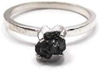 raw uncut diamond necklace
