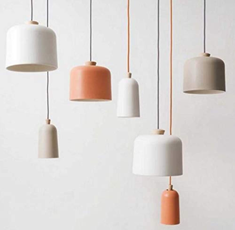 Leader Einfache Esstisch Aluminium Kronleuchter, kreative Studie Cafe Kronleuchter, Bar Schlafzimmer Showroom Kronleuchter,Orange,B