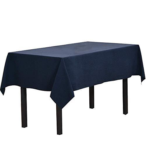 YONGYONG Nappe De Banquet De Couleur Unie Rectangulaire À Manger Fête D'anniversaire Mariage 70x108 Pouces (180x275) Cm YONGYONG