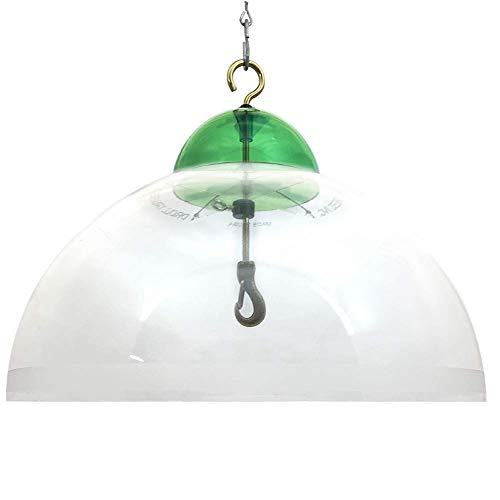 Droll Yankees SQG 15-Inch Green Dome Squirrel Guard