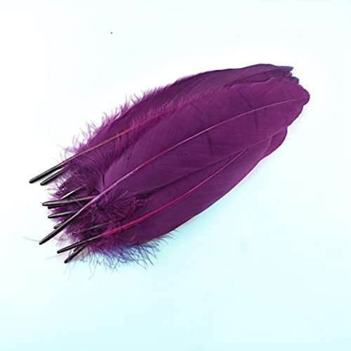SushiSwap-100Pcs Choice Lot Colored Plumas DIY Feathers Goose Wed Craft Max 68% OFF