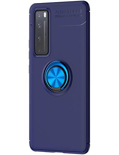 Cathanks - Funda para Huawei Nova 7 Pro (soporte de metal, ultrafina, 360 grados, soporte magnético, para coche, antiarañazos, para exteriores, resistente a golpes
