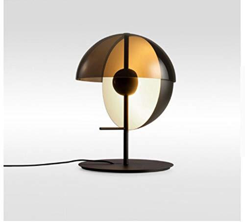 Leselampe Nachttischlampe Tischlampe Schreibtischlampe Tischleuchte Moderne Halbkreis Glas Tischlampe Nordic Led Stehpult Licht Schlafzimmer Lesen Wohnkultur