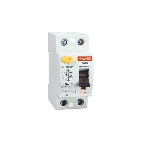 CABLEPELADO Interruptor diferencial industrial 2P-30mA-Clase AC-10kA Blanco 40 A