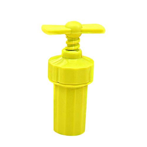 New Year's Gift Ginger Garlic Manual Press Twist Cutter Crusher Plastic Peeler Kitchen Tools - Random Color rycnet