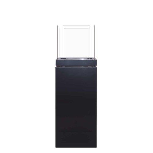 Radius Design High Flame 1,7 L schwarz gebürsteter Edelstahl Ethanolkamin 555 a