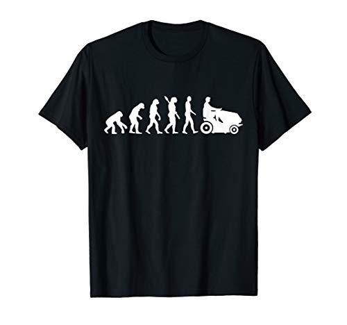 Evolution Rasenmäher T-Shirt