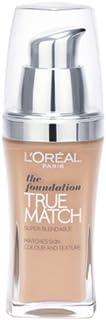 L'Oreal Paris True Match SPF-17 Foundation - W5 Golden Sand, 30 ml