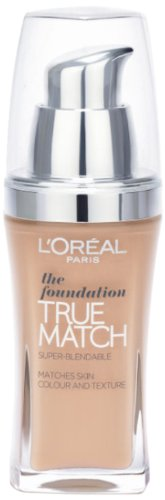 Loreal True Match Foundation Golden Sand W5