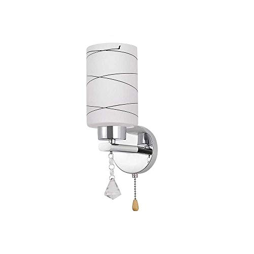 showyow Lámpara de Pared, Lámpara de Pared Moderna con Interruptor de Tiro, Interior, Villa, Bar, Lámpara de Pared para Restaurante