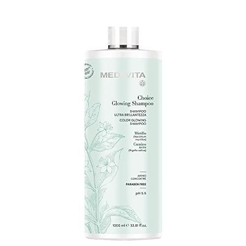 Medavita Choice Glowing Shampoo 1000ml - ultra Glanz