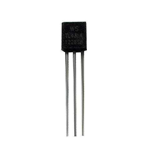 100pcs TL431 TL431A A-92 Cerca De Referencia Ic 0,5%