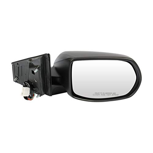 SCITOO Passenger Right Side Mirror Convex Side View Mirror Fits for 2012-2016 for Honda CR-V Power Control Heated Manual Folding HO1321269 76208T0AA21