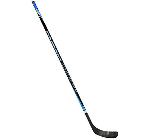 SCHREUDERS SPORT Nijdam Holz und Fiber Glas Ice Hockeyschläger 1 schwarz/blau/silberfarben