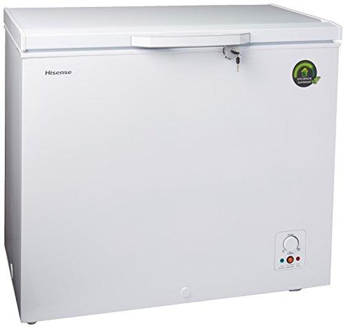 Hisense FC72D6BWD Congelador P3, color Blanco, 7 Feet