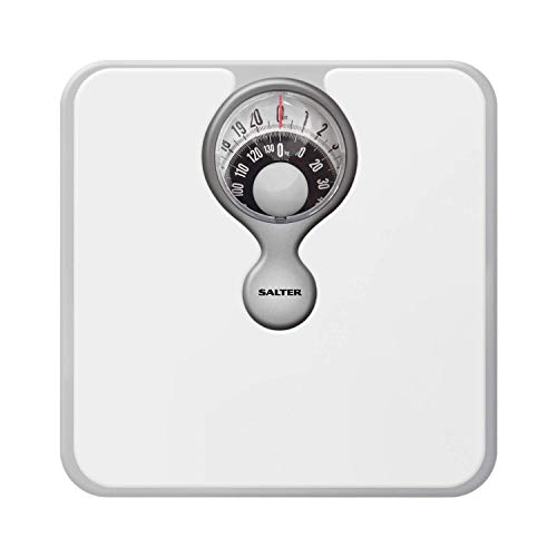 Salter Mechanical Bathroom Scales – Easy to Read Magnified Display for...