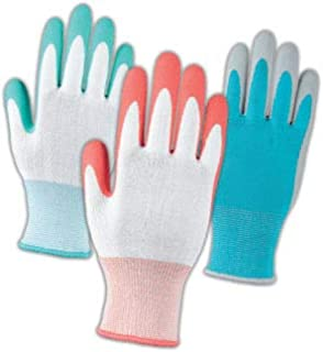 Groupe BBH Women's Hi Quality Gardening Gloves 10 Pairs - One Size