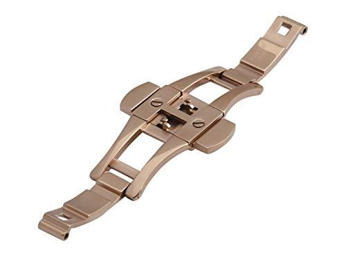 Uhrenarmband für Emporio Armani AR1410, Stahl, Roségold, 22 mm Schließe, Schnalle