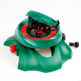 Profi-Flächenregner Rasensprenger Rotation von 0 bis 270 ° Kreisregner Viereckregner