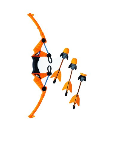 Zing Air Storm Z-Tek Bow - Orange - Foam Toy Bow and Arrow Set - Fun Outdoor and Backyard Toy - Shoots Over 125 Feet!