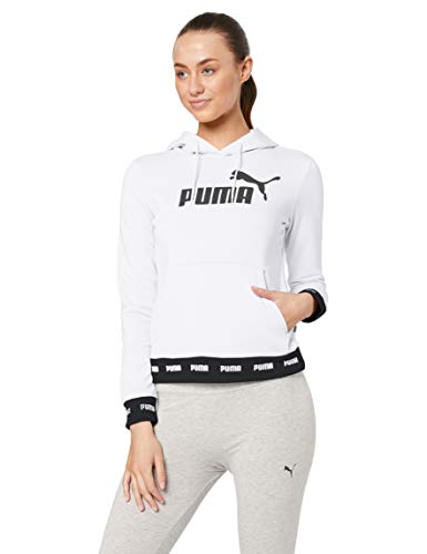 Puma Amplified Hoody TR Weiss - XL