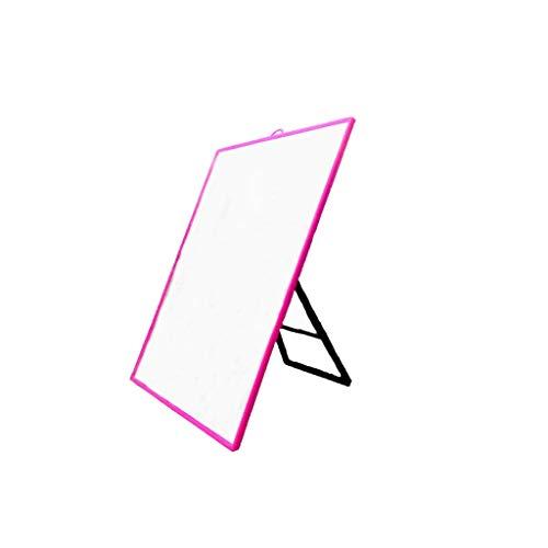 JJZI-L Rechteck Big Spiegel, Schlafraum Multifunktions-Kosmetikspiegel Mädchen Desktop Kosmetikspiegel Wand Ankleidespiegel 23 * 30CM...