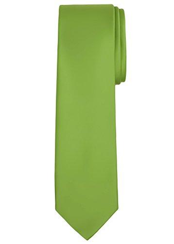 Jacob Alexander Solid Color Men's Regular Tie - Apple Green