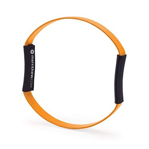 STOTT PILATES Fitness Circle Flex (Orange), 12 inch / 30.5 cm